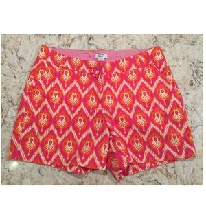 Crown & Ivy printed shorts size 4